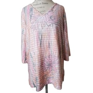 ONQUE CASUAL TUNIC STYLE TEE